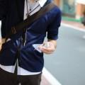 男性の洋服のカラー